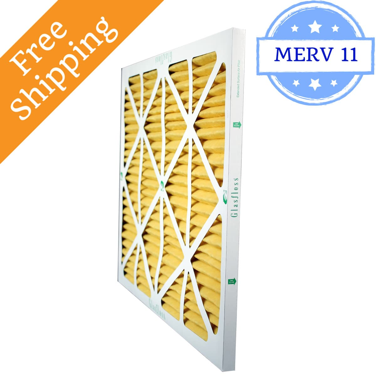 Glasfloss 16x25x2 Air Filter MR-11 Series