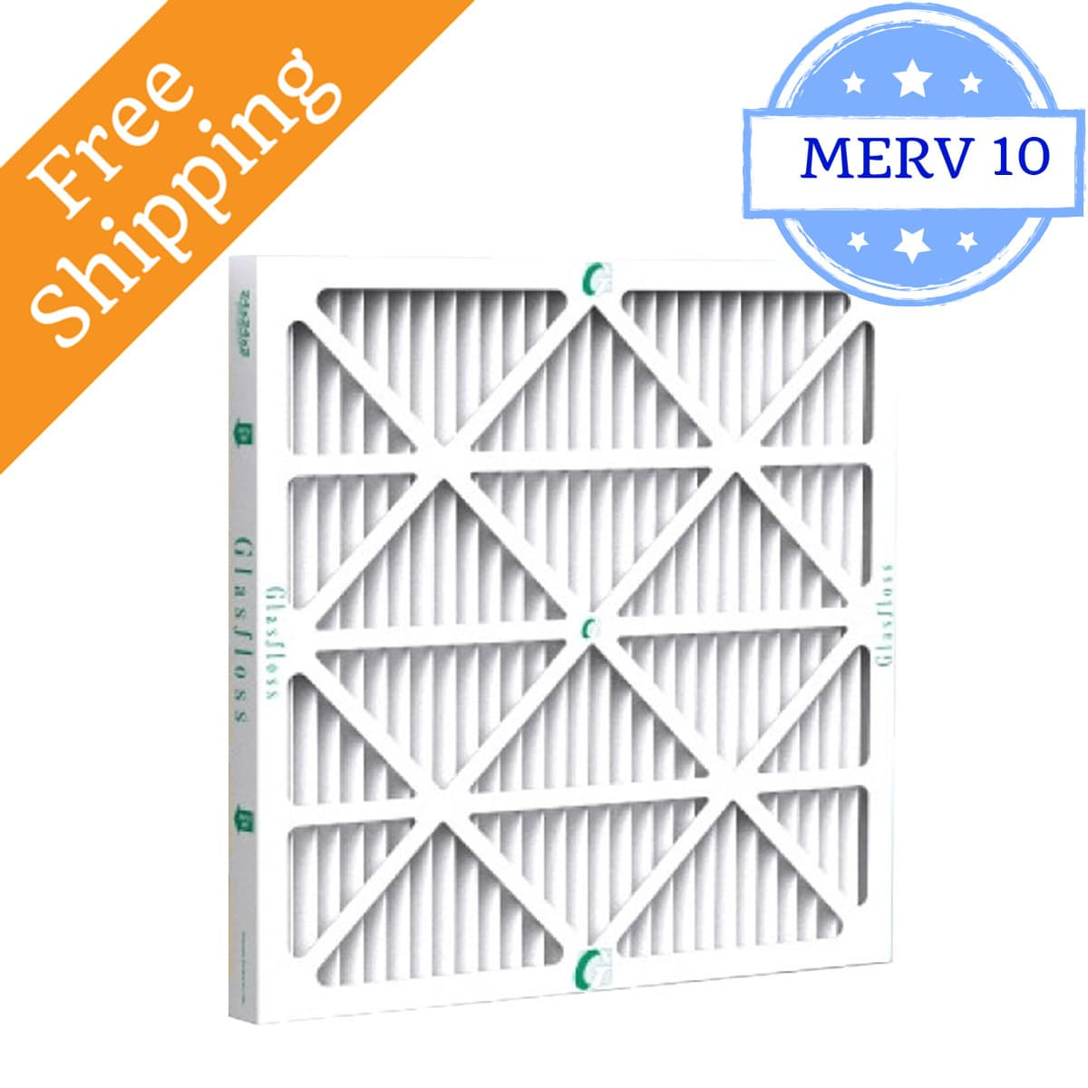 Glasfloss 16x25x2 Air Filter ZL Series