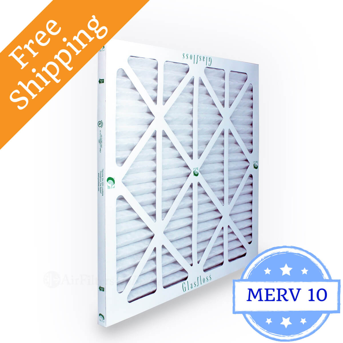 Glasfloss 14x14x1 Air Filter ZL Series