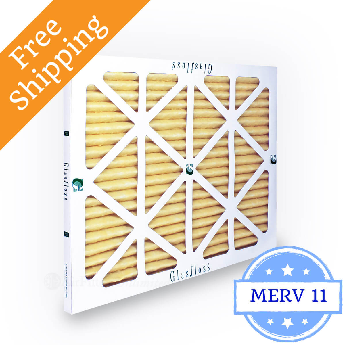 Glasfloss 20x25x1 Air Filter MR-11 Series