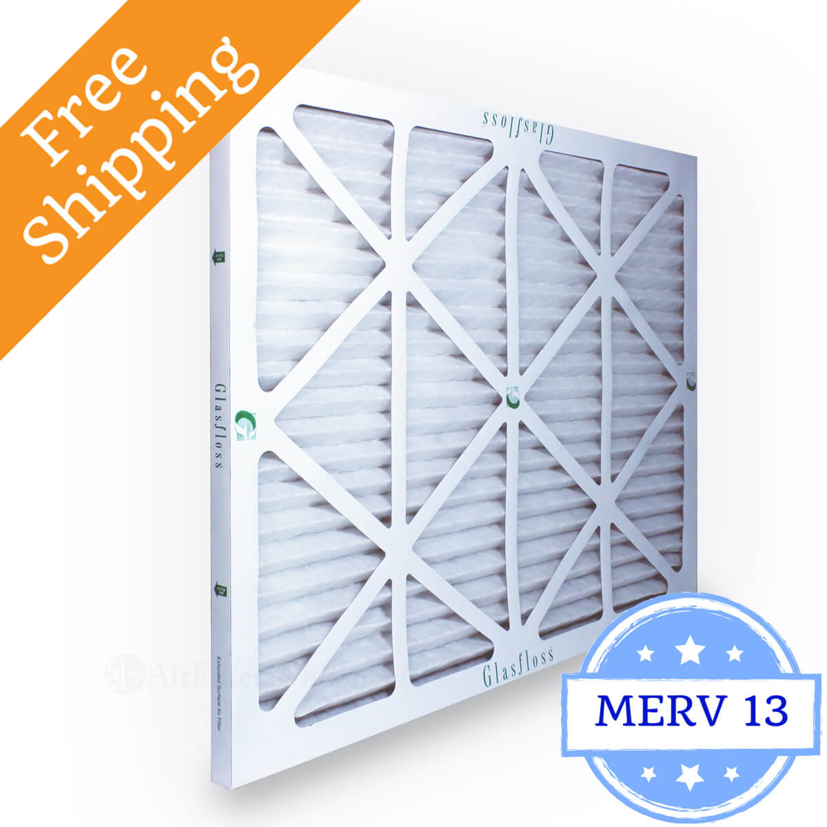 Glasfloss 20x25x1 Air Filter MR-13 Series