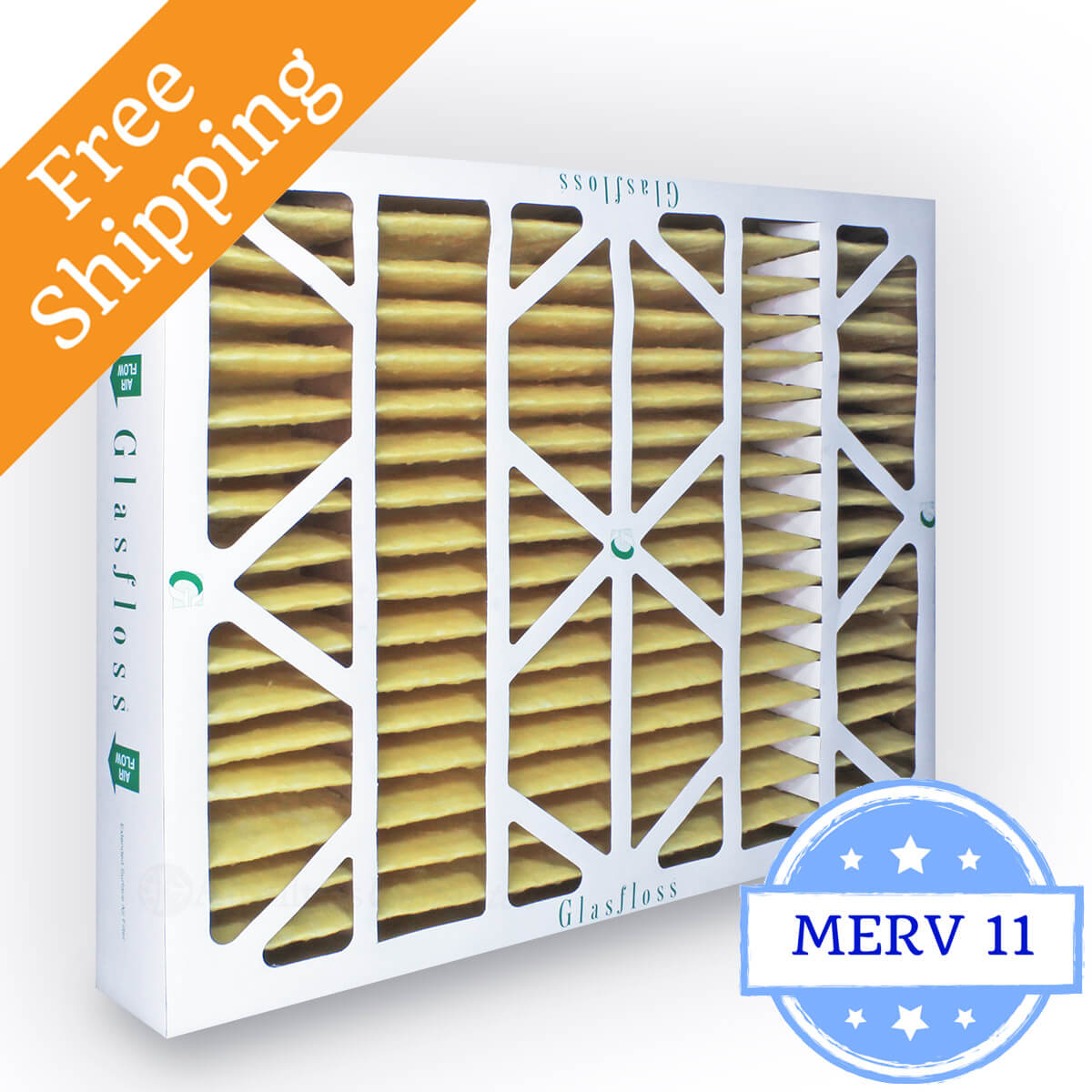 Glasfloss 16x25x4 Air Filter MR-11 Series