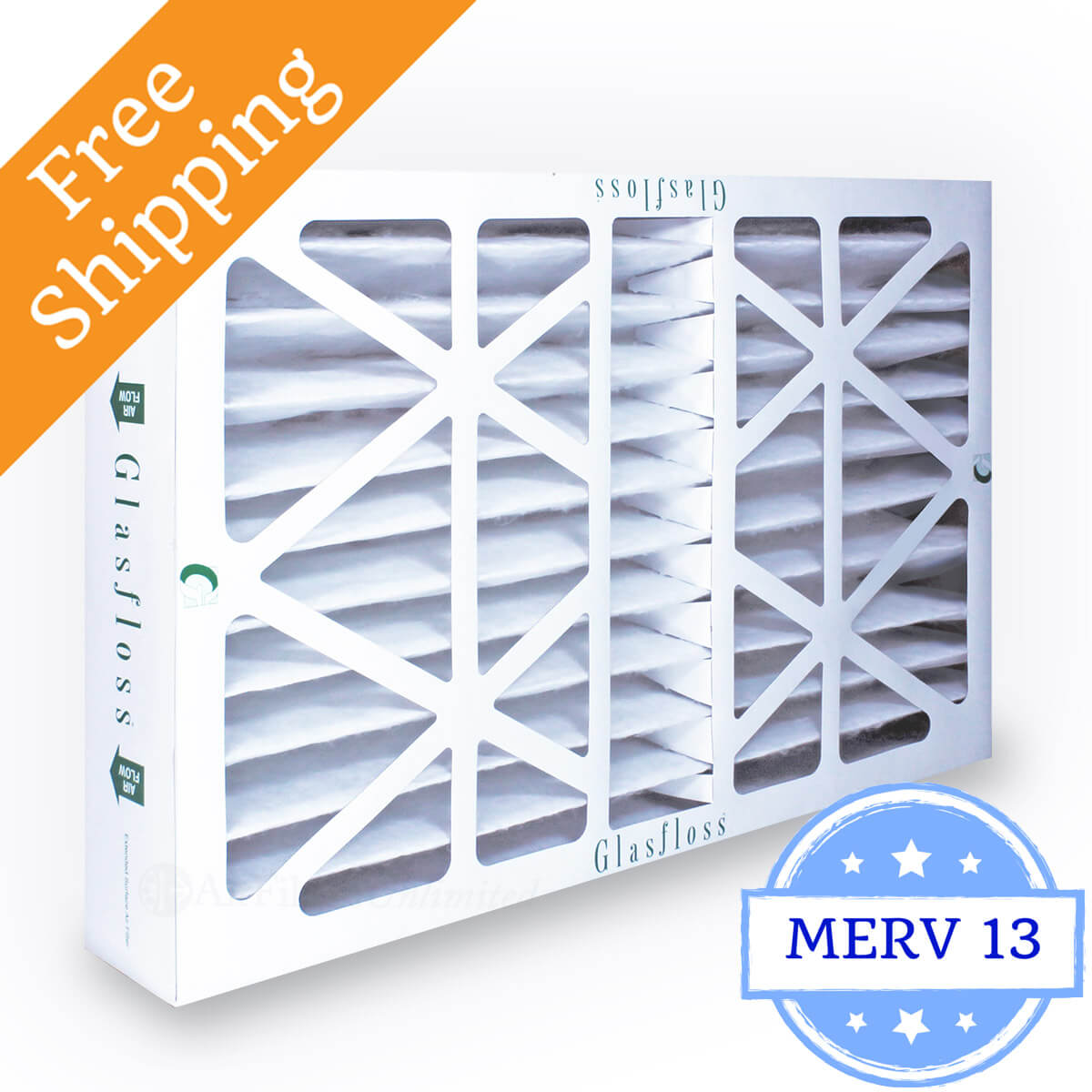 Glasfloss 16x25x4 Air Filter MR-13 Series