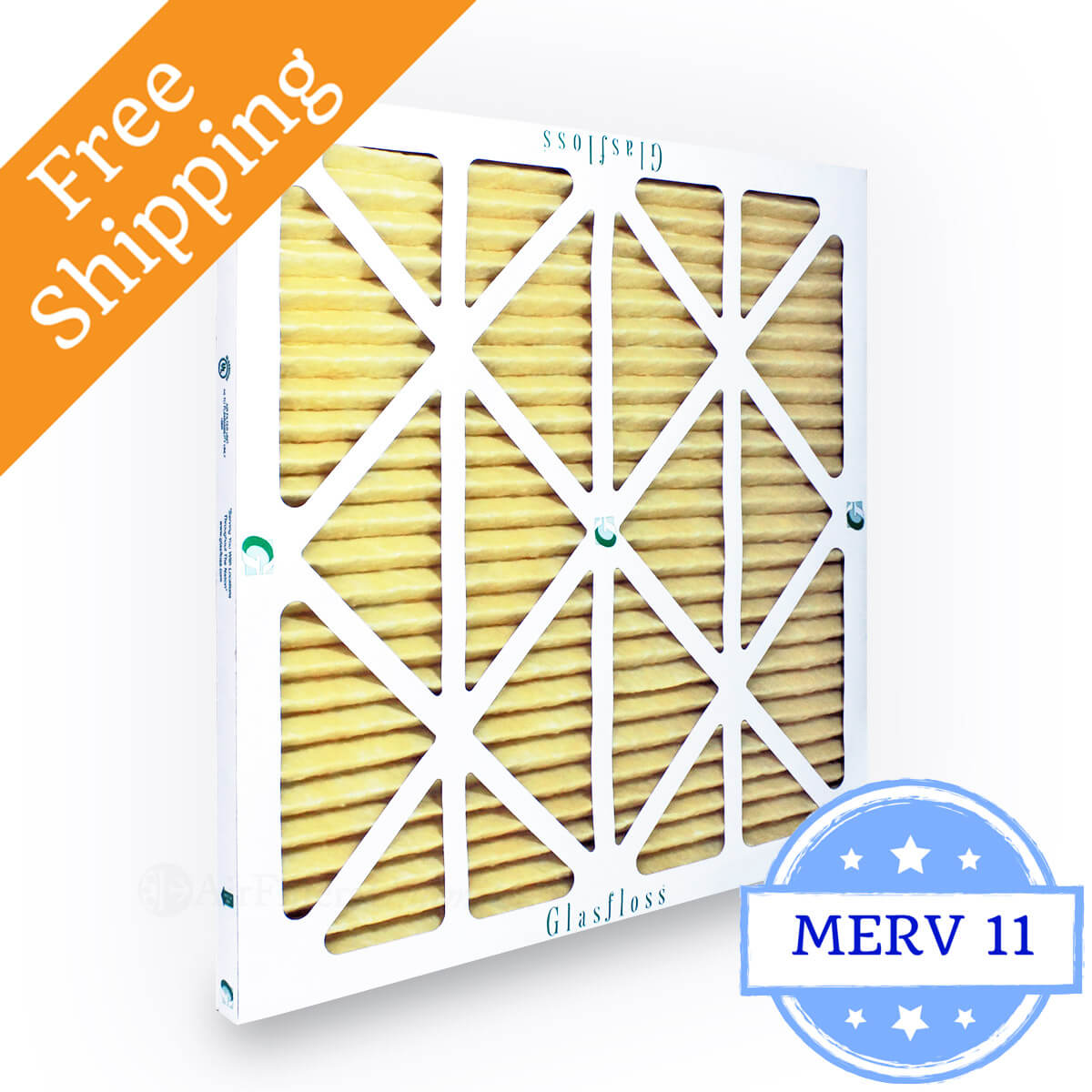Glasfloss 14x14x1 Air Filter MR-11 Series